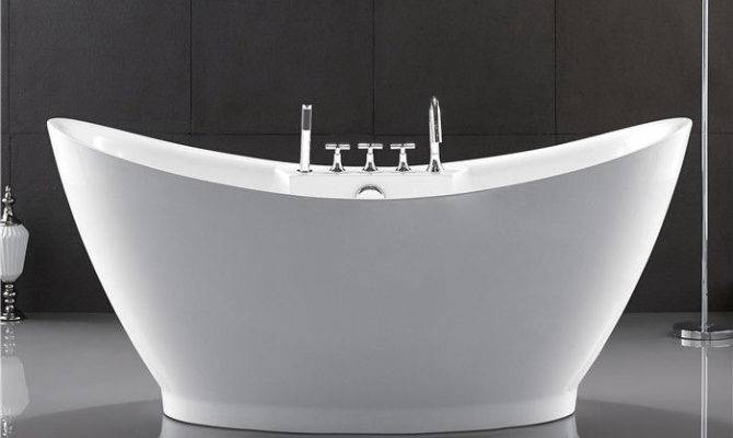 European Style Resin Freestanding Tub Custom Deep
