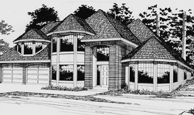 European Transitional House Plans Home Design