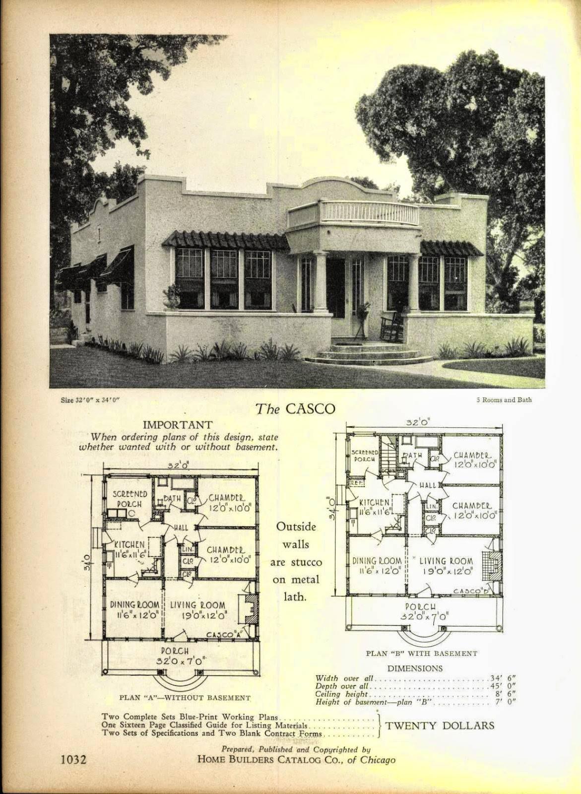 Even More Art Deco House Plans Resource House Plans 151911