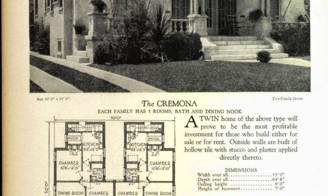 Even More Art Deco House Plans Resource