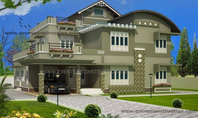 Evens Construction Pvt Ltd Kerala House Designs