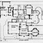 Evolving Aesthetic Frank Lloyd Wright Home Studio Oak