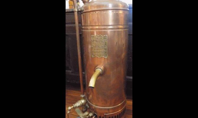 Ewart Victor Geyser Copper Hot Water Heater