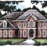 Example Affluent Living Hwbdo Colonial Builderhouseplans