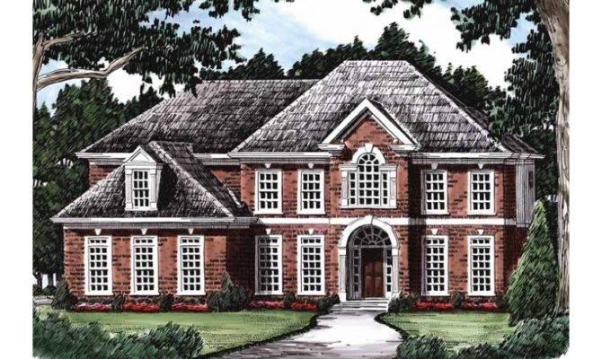 Example Affluent Living Hwbdo Colonial Builderhouseplans
