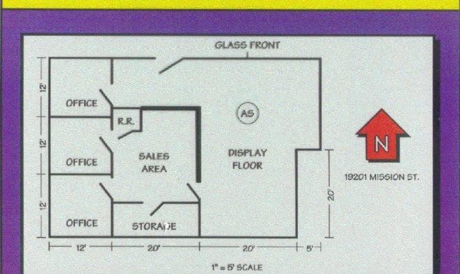 Example Floor Plan Drawing