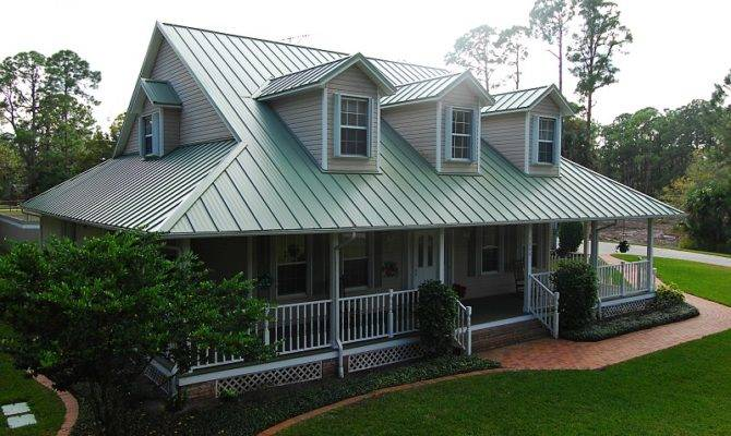 Example Metal Roofs Vertical Panels Green House Plans 4246