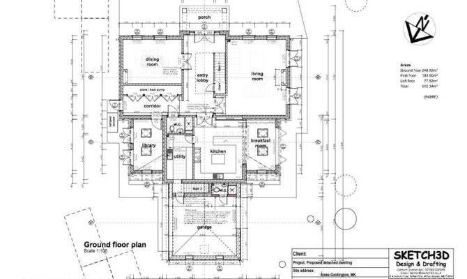 Example Self Build Bedroom Farm House