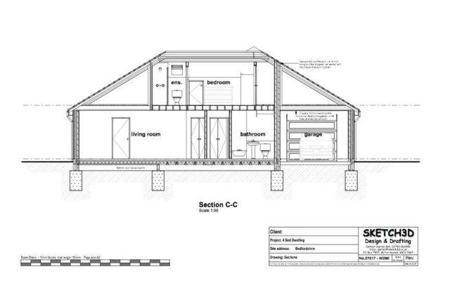 Example Self Build Bungalow Plans Let
