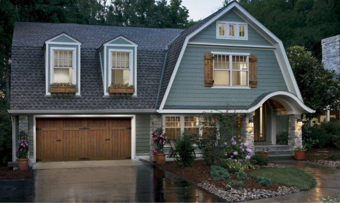 Examples Homes Gambrel Roofs
