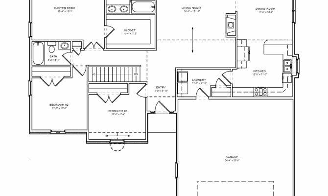 Exceptional Bedroom House Plans Basement Simple