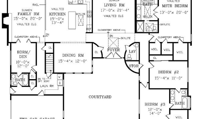 Exceptional Large Ranch House Plans Pricing