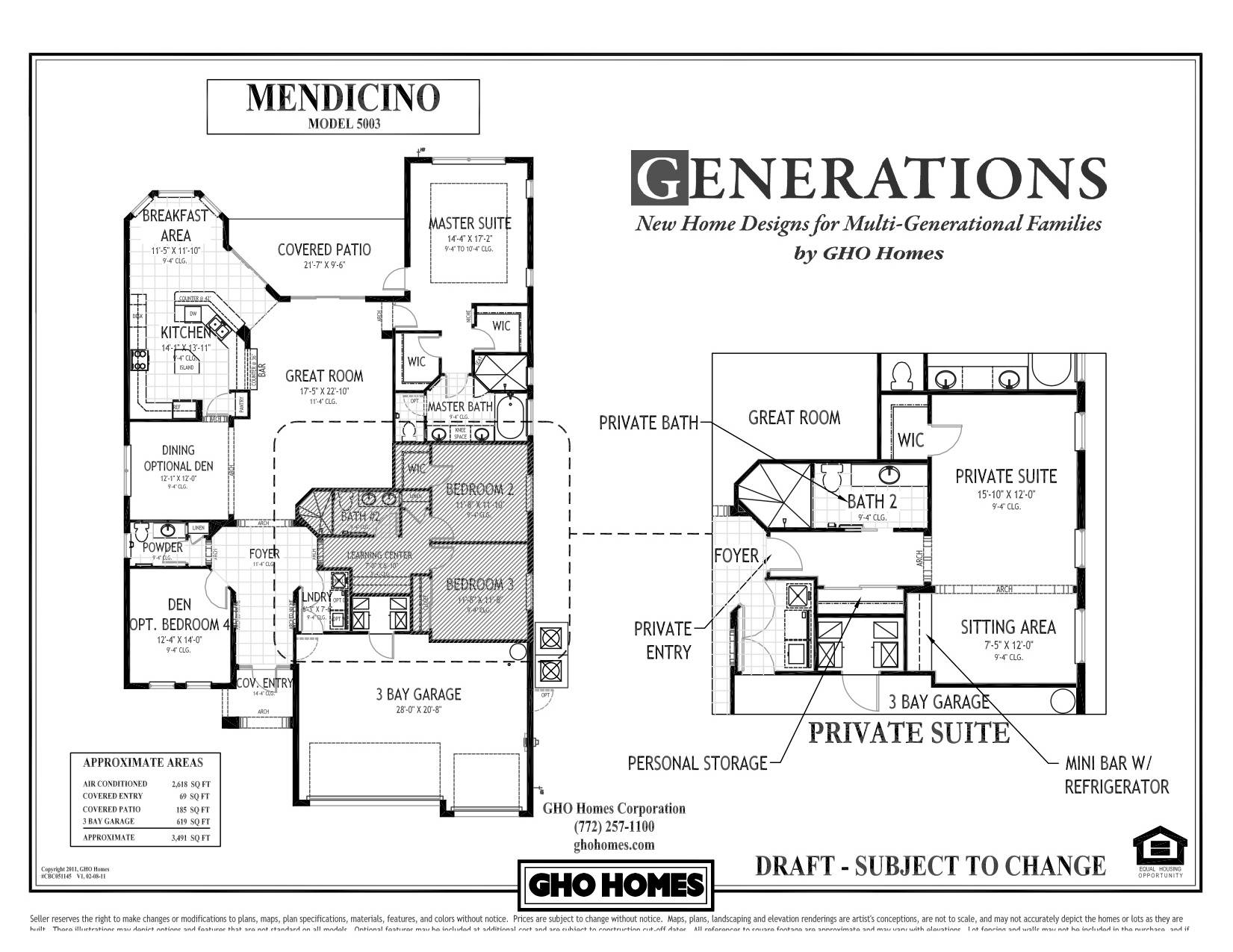 Exceptional Multigenerational House Plans Multi - House ...