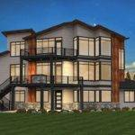 Exciting Exclusive Bed Modern House Plan