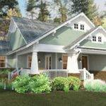 Exclusive Craftsman Cottage House Plans Style