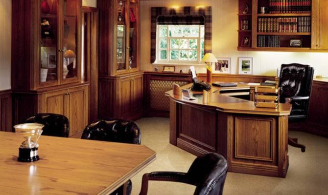 Executive Office Design Contemporary Bespoke