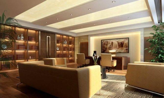 Executive Office Design Decoration Home Interior Ideas