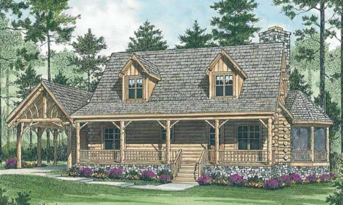 Expensive Mountain Log Cabin House