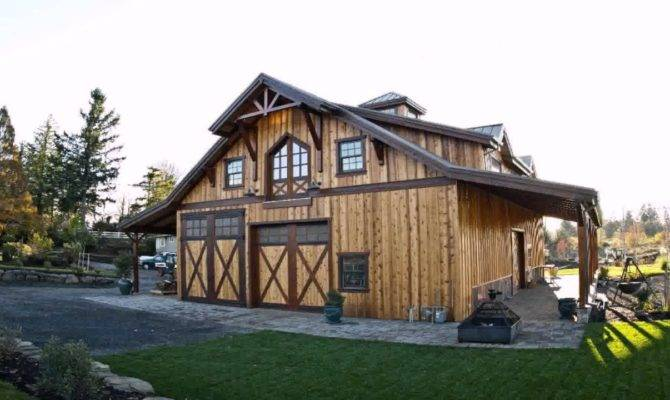 Exterior Barn Style House Floor Plans