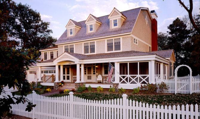 Exterior Classic American Dutch Colonial Victorian