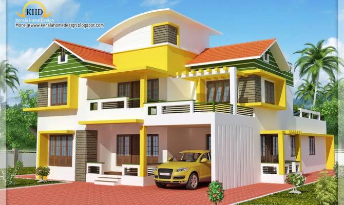 Exterior Collections Kerala Home Design Views