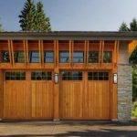 Exterior Design Garage Doors Modern Cedar Shake Style Cool