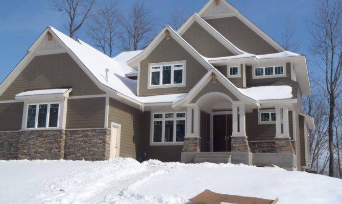 Exterior Finish Work New Home Taylor Creek Plymouth