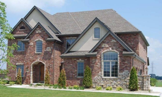 Exterior House Color Ideas Brick Style Plans