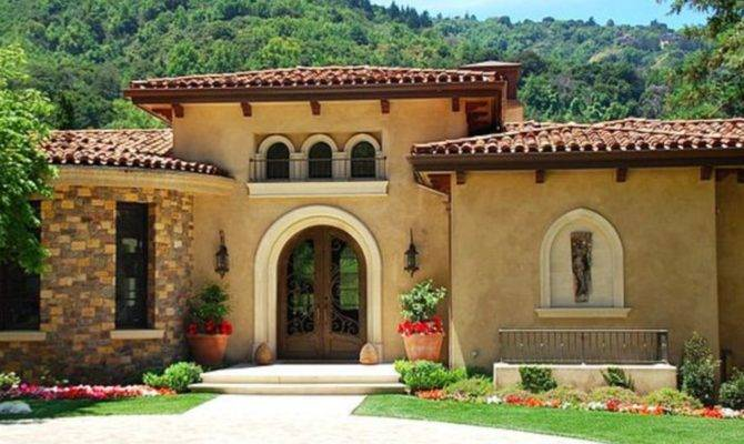 Exterior House Colors Stucco Homes Homedecort