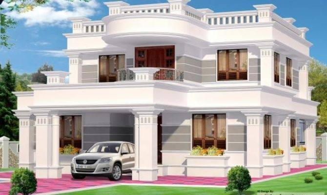 Exterior House Designs India Design