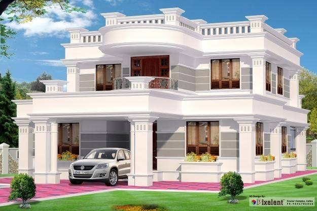 Exterior House Designs India Design House Plans 88701
