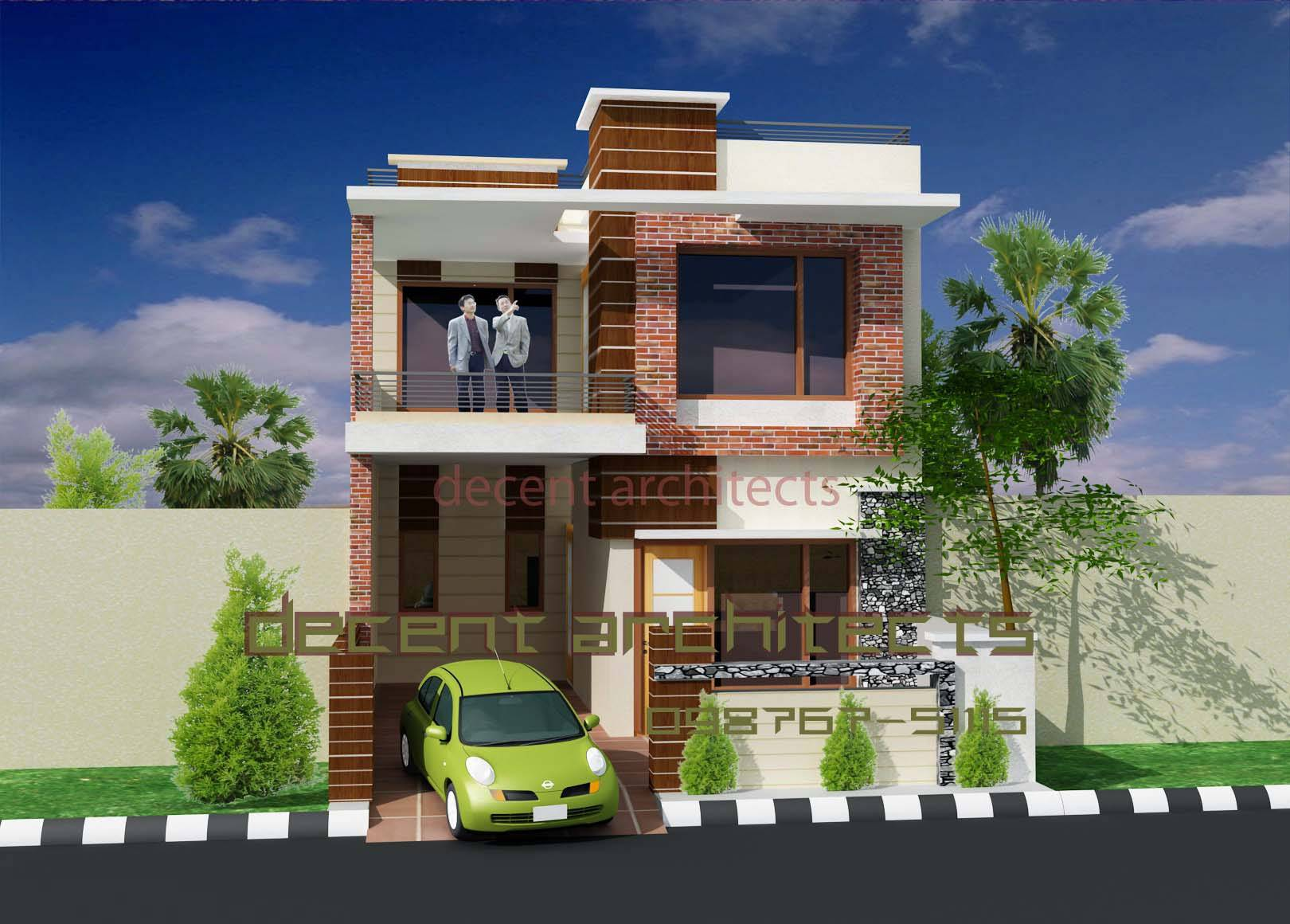 Exterior Indian Home Design House Painting House Plans 158306
