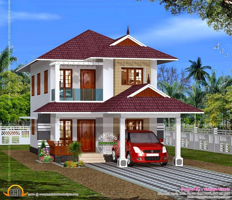 Indian Home Exterior Design Pictures: Exterior Indian House Designs Loversiq - House Plans
