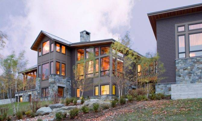 Exterior Lovely Home Architecture Design