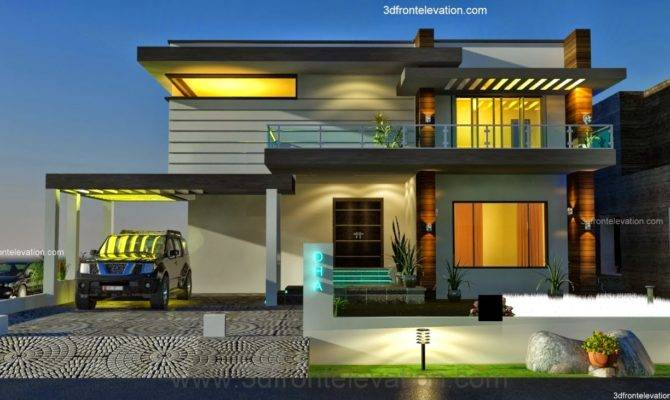 Exterior Modern Front House Best