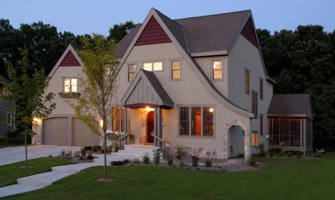 Exterior Modern Tudor Traditional