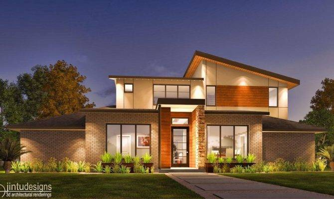 Exterior Rendering Front Elevation