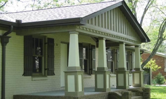 Exterior Renovation Franklin Traditional Porch
