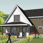 Exterior Simple Unique Modern Cottage Design Check Out