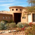 Exterior Southwestern Homes