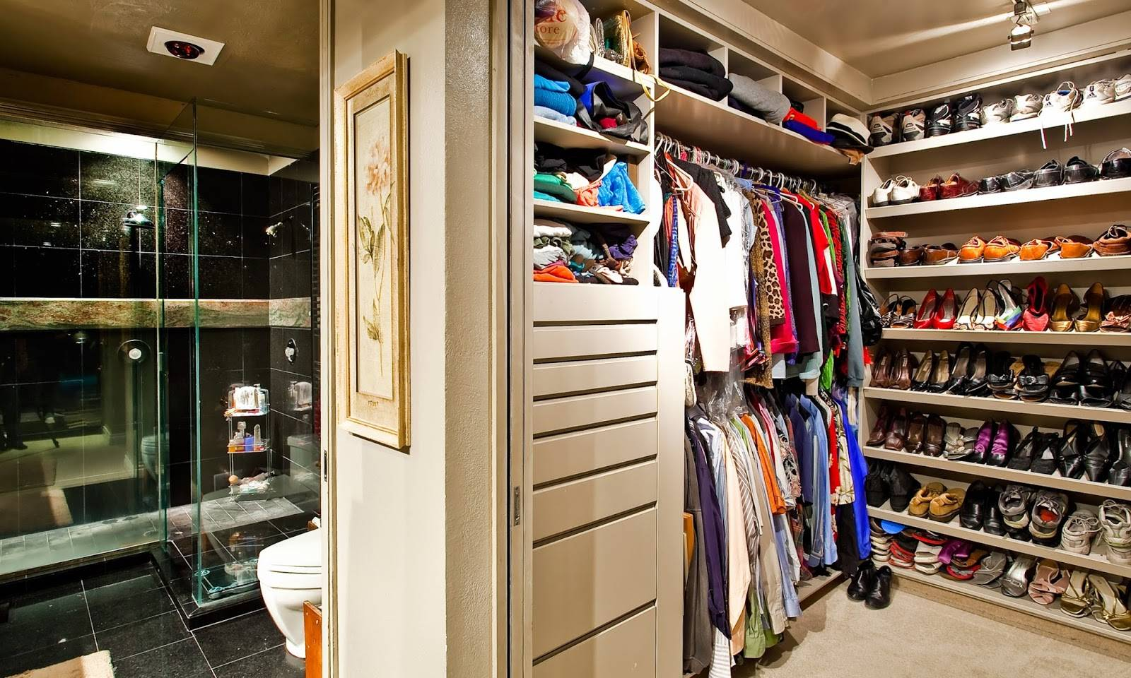 Image of: Extra Small Walk Closet Ideas House Plans 37720