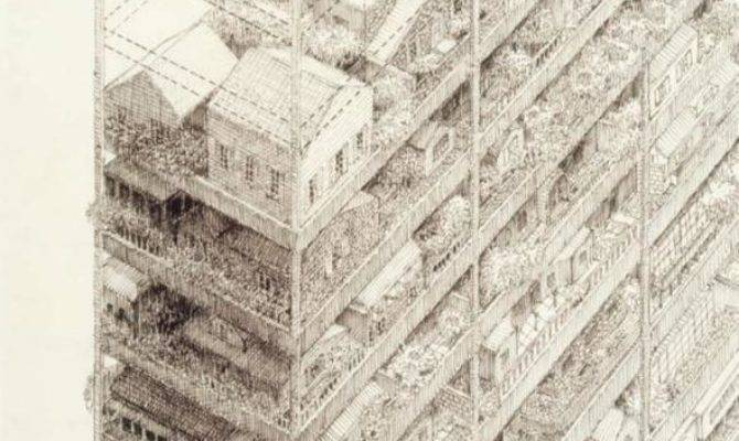 Extraordinarily Beautiful Architectural Drawings