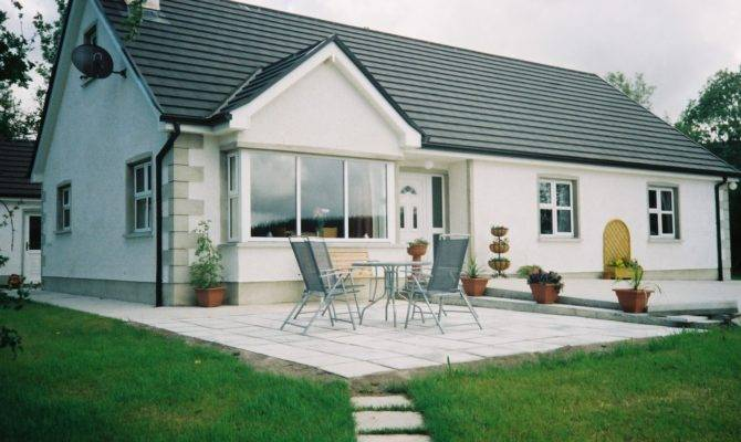 Fabulous Bedroom Bungalow Plans Home Interior Design