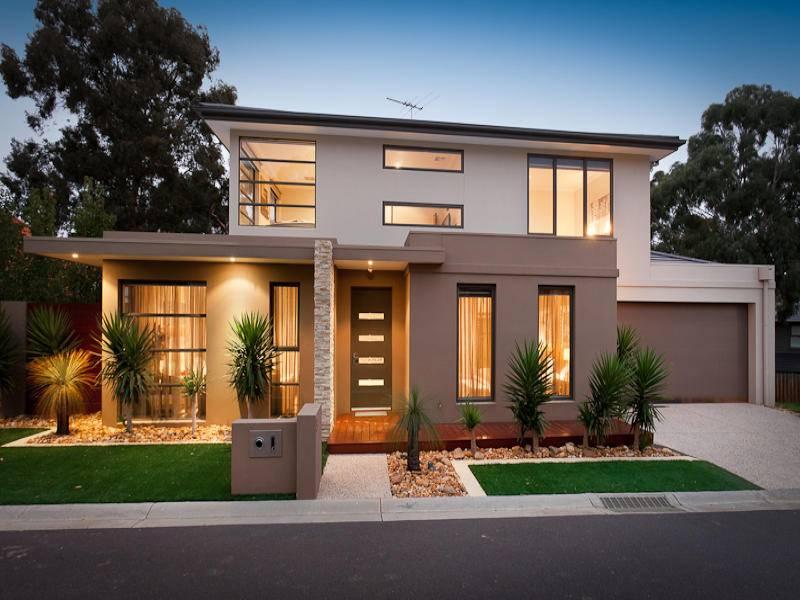 Facades Pinterest Modern House Exteriors Exterior Design - House Plans  #35100