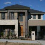 Face Brick House Designs Front Modern