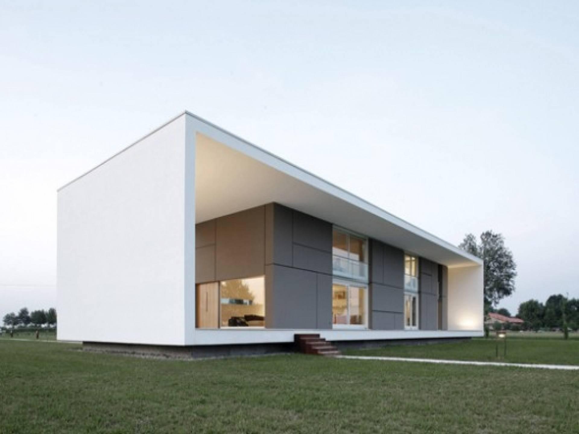 Fair Design Ideas Minimalist House Plans Rectangle Shape White House Plans 6594