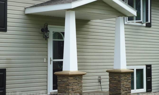 Fake Stone Columns Make Great Pillar Supports Porch Designs