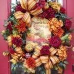 Fall Wreath Autumn Front Door Outdoor