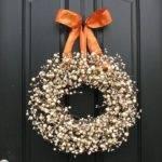Fall Wreaths Front Door