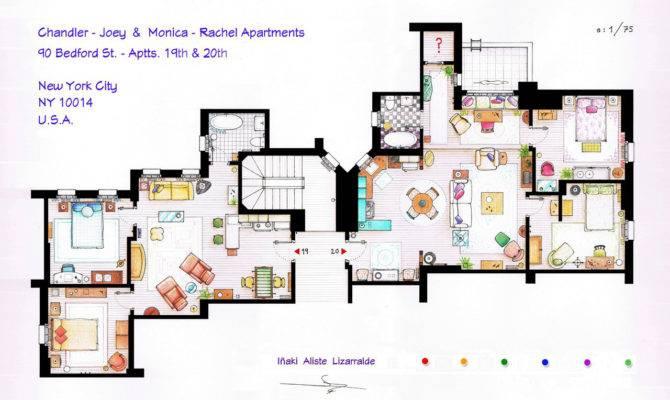 Famous Television House Apartment Floor Plans